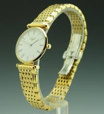 longines la grande classique de lady s gold tone ultra thin q longines longines la grande classique de longines lady s gold tone ultra thin quartz bracelet watch l4