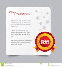 customer service letter thank you for buying royalty stock customer service letter thank you for buying
