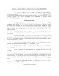 Purchase And Sales Agreement Exhibit 2424 Purchase And Sale Agreement 7
