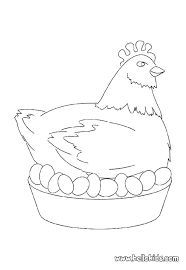 Chicken Coloring Page Chickens Coloring Page Interrupting Chicken