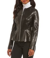 jackets womens antonio melani luxury collection haynes genuine leather jacket black gift to live
