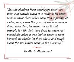 Maria Montessori Quotes Beauteous Quotes Of Maria Montessori Inspiration For Teachers And Parents