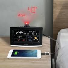 la crosse atomic alarm clock manual technology projection weather s
