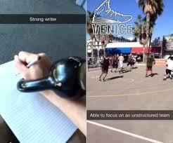 Creative Snapchat Story Resume Business Insider