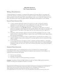 example of a thesis essay resume examples thesis statement analytical essay of examples of artist statements by a variety of professional