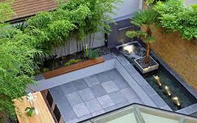 small courtyard garden design london