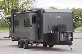 plete trailers llccustom quest off road toy hauler custom steel aluminum trailers