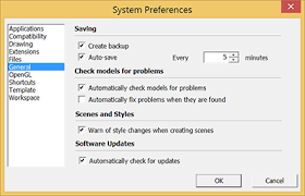 Setting Software and File Preferences | SketchUp Help