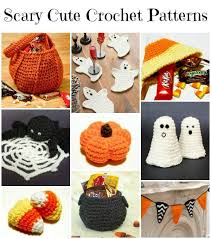 Halloween Crochet Patterns Cool Free Halloween Crochet Patterns Petals To Picots