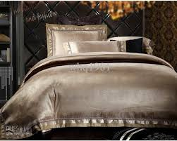 comforter sets whole luxury jacquard silk cotton bedding set queen king size 4 6pcs 10