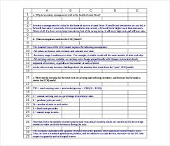 15 Inventory Control Templates Free Sample Example Format