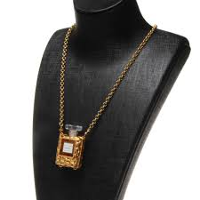 vintage chanel allure eau de parfum mini perfume bottle necklace for at 1stdibs