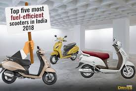 Sc High Mileage Chart 2017 Top Five Scooters With Best Mileage In India 2018 The