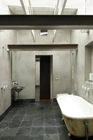 rustic wet room bathroom contemporary with recessed lighting modern