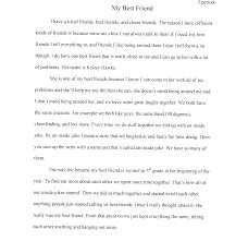 essay my best friend short essay my best friend in english