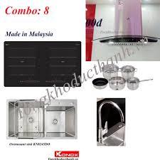 Combo 08 Bếp từ Kocher DI669 NK Malaysia, Chậu vòi Konox - Siêu thị Nhà bếp  Đức Thành