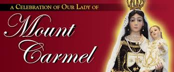 Mount Carmel My Chart Our Lady Of Mount Carmel Feast Day Celebration Society Of