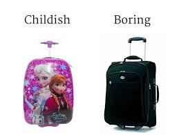 Like luggage for teen