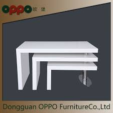 china lacquer furniture nesting table