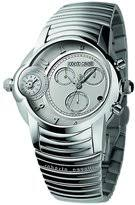 roberto cavalli watches for men shopstyle roberto cavalli men s caractere chronograph analog stainless steel watch r7273649015