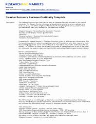 Disaster Recovery Plan Template Manufacturing Disaster Recovery Plan Template Best Of Recovery Plan 6