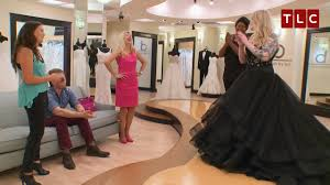 stunning black wedding gown youtube
