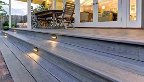 deck accent lighting. TimberTech Deck Riser Lights - View 1 Accent Lighting