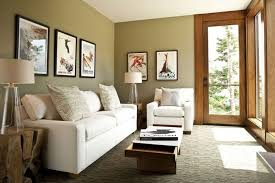 terrific small living room. Terrific Small Apartment Living Room White Sectional Sofa Long Wooden Coffee Table Drum Shape Tripod Legs Floor Lamp Glass Frame Grey Painted Wall N