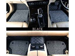 picture of 7d luxury custom fitted car mats for bmw 3 series black