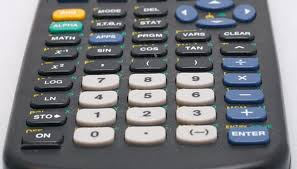 a graphing calculator