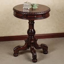 round foyer tables lovely round pedestal table for foyer round table ideas