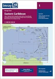 Imray Charts Caribbean 1 Eastern Caribbean General Chart Imray Chart