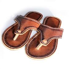 kids african leather sandals