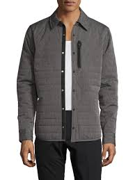 Original penguin Quilted Space Dye Jacket in Gray for Men | Lyst & Gallery Adamdwight.com