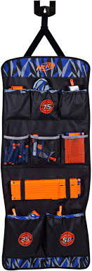 5.0 out of 5 stars. Amazon Com Nerf Elite Over The Door Storage Toys Games