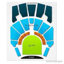 Masonic Auditorium Cleveland 2019 Seating Chart