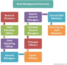 Executive Hierarchy Chart Bank Management Hierarchy Executive Jobs Clerical Jobs