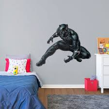 black panther life size officially licensed marvel removable wall decal fathead wall decal