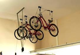 bike rack for garage best home storage new diy hanging