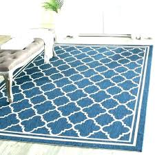 blue outdoor rug navy and white rugs beige 8x10