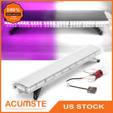 Parts Accessories 38 Inch 72 Led Amber Emergency Warning