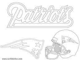 astonishing new england patriots football coloring pages 11 free printable