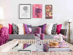 Pink Living Room Chair 14 Fashion Forward Rooms For Every Design Lover Hgtvs