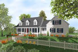 cape cod 2 story home plans for