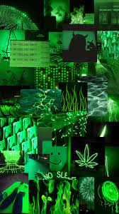 green #aesthetic #background #lights ...