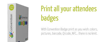 Event Badge Template Solution Convention Badge