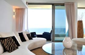 stylish sliding glass door designs 40 modern images rich interiors sport a curved sofa