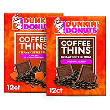 Amazon's choice for dunkin donuts whole bean coffee dunkin' donuts coffee, original blend medium roast whole bean coffee, 12 ounces, 6 count 4.8 out of 5 stars 338 $34.98$34.98 ($0.49/ounce) Amazon Com Dunkin Donuts Coffee Thins Original Caramel Variety Pack 24 Creamy Coffee Treats 2 Bags Grocery Gourmet Food