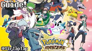 Pokemon Masters Guide Strategy All Sync Pairs List Sir