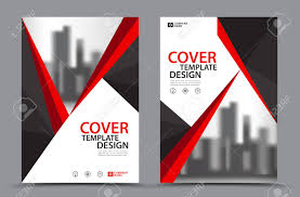 free book covers design templates red color scheme with city background business book cover design